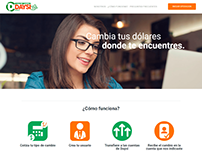 Diseño web Casa de cambio Daysi