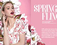 Spring Fling- GIRL Magazine
