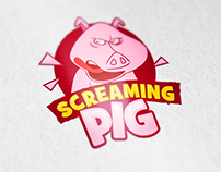 Screaming Pig Logo- Australia