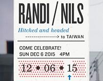 RANDI + NILS / INVITE