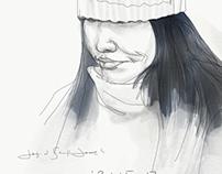 Subway sketch nyc