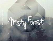 Misty Fog – Geometric Events PSD Flyers