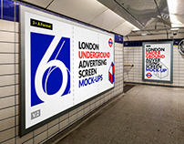 London Underground Ad Screen Mock-Ups 12