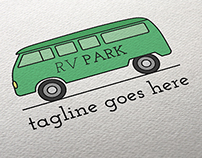 RV Park Logo Template