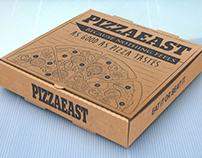 Pizzaeast Pizza Box Design