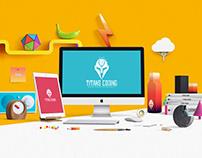 Titans Coding - Branding