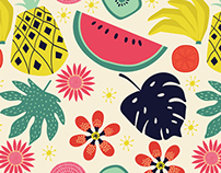 TROPICANA PATTERN COLLECTION