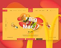 McDonald's Web Concept