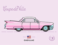 Vintage Automotive Illustrations