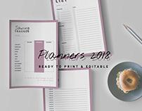 Printable Planners 2018
