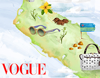 Ilustraciones Vogue México, Abril 2016.