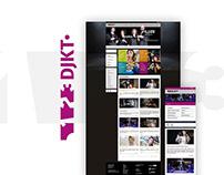 DJKT.eu - tvorba webových stránek plzeňských divadel