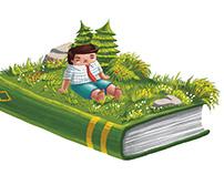 The Reading Break 2019 Illustration Series