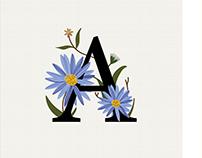 36 Days of Type—Flower Power