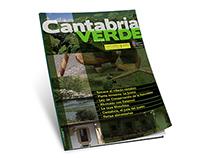 Proyecto de maquetación de la revista Cantabria Verde.