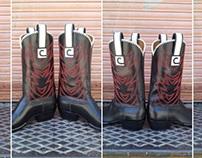 Cinemark Charity Golf Tournament Cowboy Boot Designs