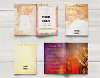 Yvonne & Arinze - Wedding Brochure design