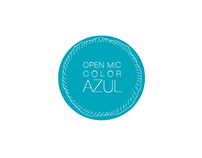 Open Mic Color AZUL