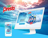 Biopresto 2015 - sito corporate Italia