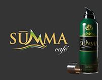 Summa Cafe Logo + Packaging