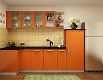 L Shaped Modular Kitchen Designs