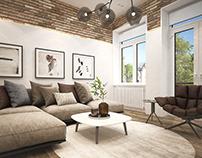 Apartment on Lva Tolstogo Street. Kyiv