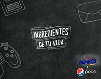 Pepsi - Ingredientes de tu vida