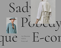Sady Pobedy — E-commerce website | UI/UX