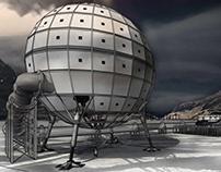 An Arkitecture - Genetic Vault in Antarctica
