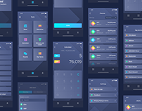 Cryptocurrency App Mockups