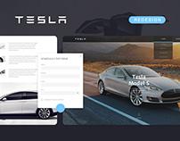 Tesla - Website Redesign