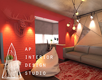 Дизайн Інтер'єр Кімнати для Підлітка.