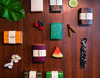 Handmade Soaps- Branding and packaging.
