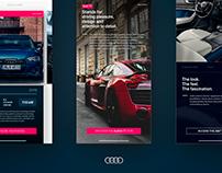 Audi App Concept - UX/UI Design
