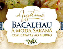 Campanha Bacalhau Sakaná