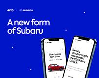 Subaru - Website Redesign Concept
