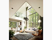 Loft in the Forest (CGI)