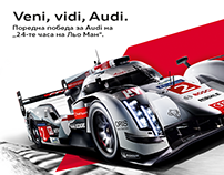 Audi: Le Mans
