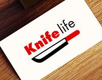 Логотип для магазина ножей