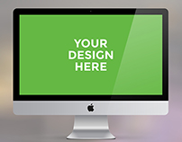 iMac, MacBook Pro, MacBook Air FREE PSD