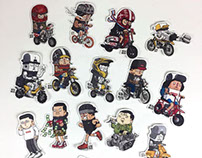 "MDSKB STICKER VOL.4.0 ""Monster Candy"""