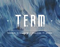 TERM - | FREE FONT |