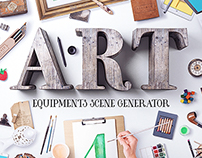 Art Equipments Scene Generator