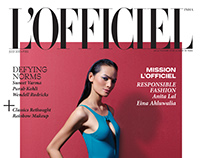 l'officiel July Issue