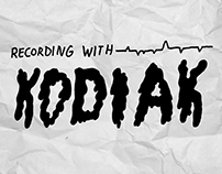 Recording With KODIAK // Day Map