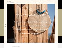 Webdesign & création du site - Cybèle Desarnauts