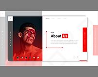 Free Adobe XD - Resume Template Download