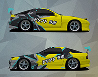 Drift lab team livery 2015