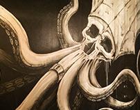 Muertos: The Dead Bar - Branding & Mural Art