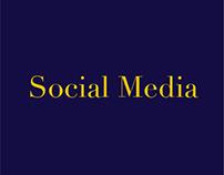 Social Media - Fashion Designers